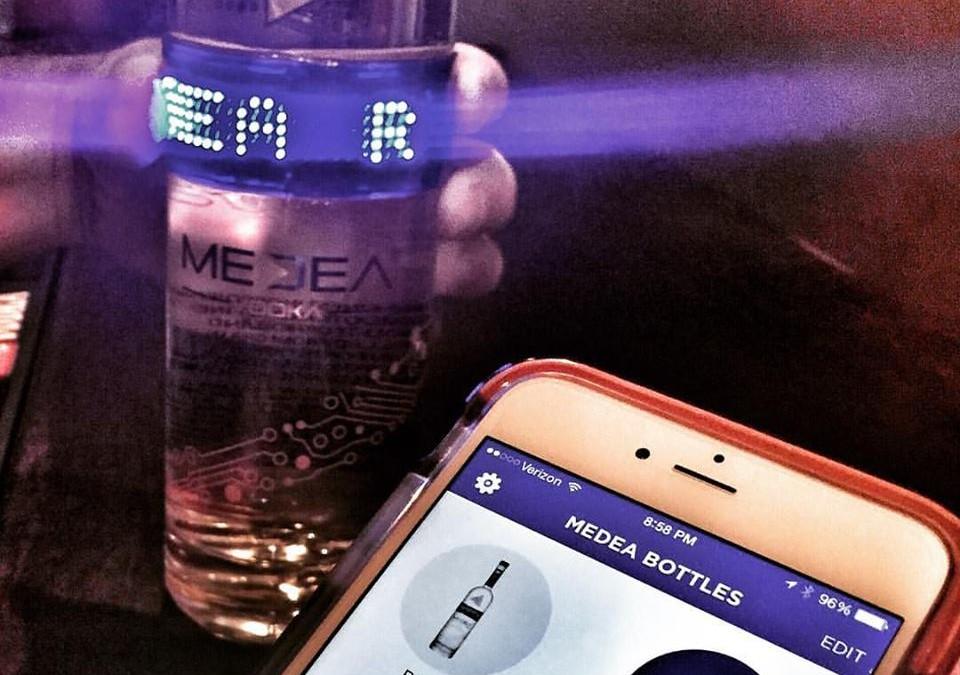Medea Vodka Lights Up New Bluetooth Technology