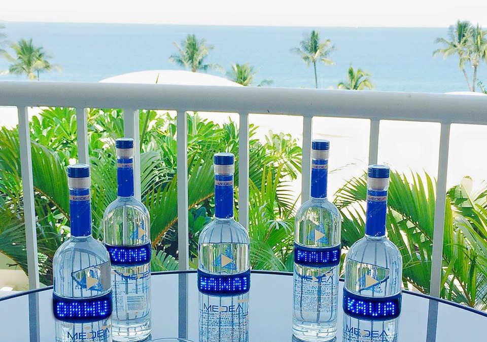 Medea Vodka Marches Across the Continent