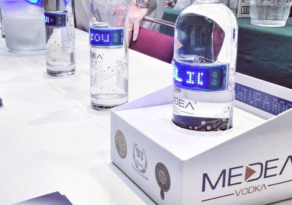 Medea Vodka Relaunched!