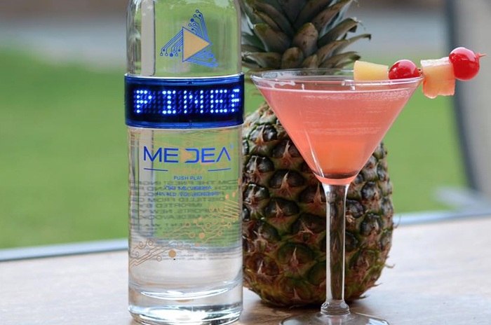Medea Pineapple Upside Down Martini