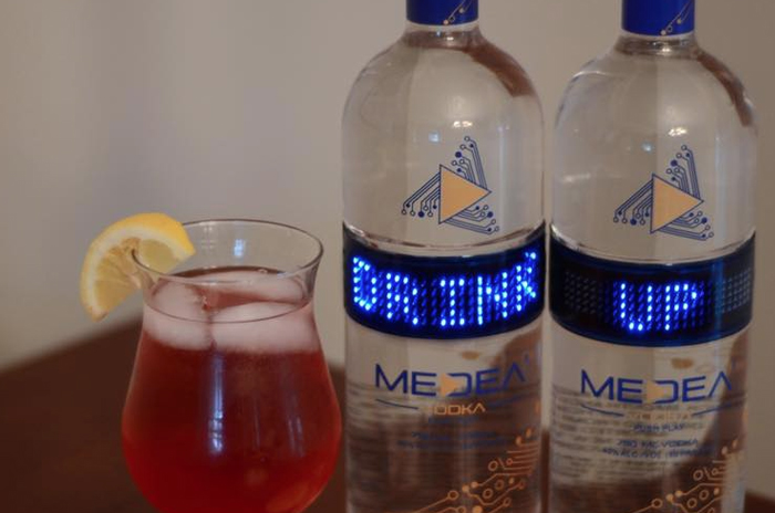 Medea Vodka Pomegranate Lemonade